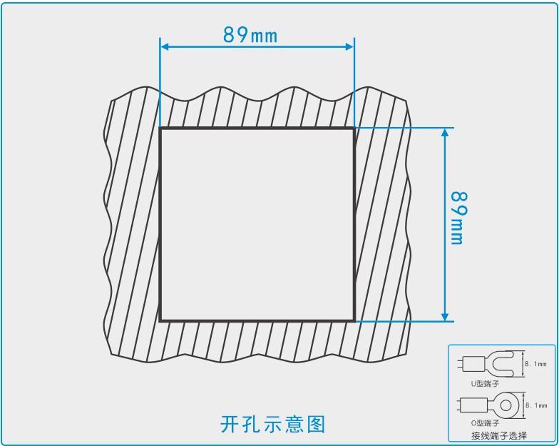 两路湿度控制,两路负载输出,负载都接加热器 注塑机温控仪的接线图