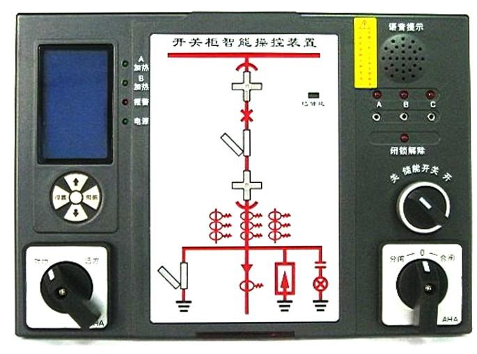 gc8800c开关柜智能操控的接线图         公司拥有标准生产线3条